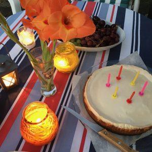 Cheesecake Verjaardag