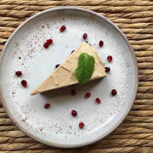 Chocolade taart met hazelnotencreme